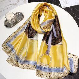 $enCountryForm.capitalKeyWord NZ - High-quality silk scarves classic lady's silk scarves soft and light silk scarves beach towel wholesale gift 190*80cm, free shopping