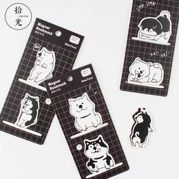 $enCountryForm.capitalKeyWord Australia - Kawaii Cartoon Dog Mini magnet Bookmark Novelty Book Reading Item Creative Gift Lovely Animal School Supplies School Stationary