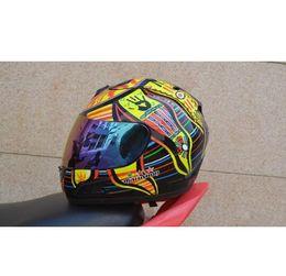 Full Carbon Fiber Motorcycle Helmet Australia - Brand malushun motorcycle helmet Jorge Lorenzo full face helmet motoGP racing helmet moto casco motociclistas capacete DOT