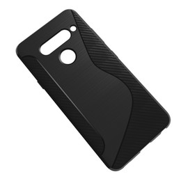 $enCountryForm.capitalKeyWord UK - 1.3mm NS Line Silicone Case Soft Carbon Fiber Bumper Back Cover For Motorola One P30 Play Samsung Galaxy A7 2018 Nokia 7.1 OnePlus 6T 1+6T