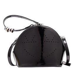 $enCountryForm.capitalKeyWord UK - New Elegant Shoulder Bag Women Wild Simple Messenger Bag For Girls Smile Dot Leather Hollow Crossbody Beading Handle K627