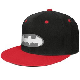 Discount batman ball cap - LEGO batman logo vector movie Red for men and women hip-hop flat brim cap cool fitted custom sports fitted team trendy c