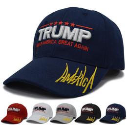 Toptan satış Trump Hat Trump2020 Beyzbol Şapkası Trump Hat Seçim Patlama Beyzbol Şapkası