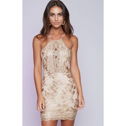 $enCountryForm.capitalKeyWord Canada - 2019 Fast-selling Amazon Women's Clothes Hot-selling Lace Sexy Backpack Hip Dresses