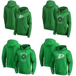 Ryan Jerseys Australia - Anaheim Ducks Green St. Patrick's Day Luck Tradition Pullover Hoodie 15 Ryan Getzlaf 29 Devin Shore 1 Chad Johnson Hockey Jerseys