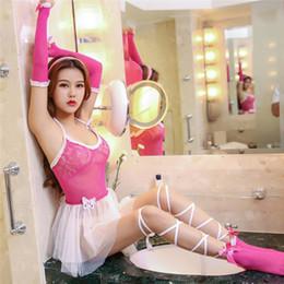 Dresses Apparel Australia - GOYHOZMI hot women lingerie Exotic Apparel Sexy underwear fashion cosplay costumes dress+ Socks + gloves Sets Y190601