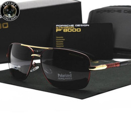 $enCountryForm.capitalKeyWord Australia - P8724 Eyewear Brand Design Pilot Sunglasses Men and Women Polarized Mirror Hollow Frame UV Glass Goggles For Driving Fishing Sun Glasses