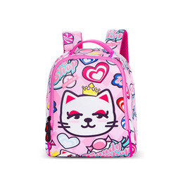 $enCountryForm.capitalKeyWord UK - Newest pink cats Waterproof Small Backpacks Kids Children Animals Printing Backpack for Girls Boys Kid's School Bags Age 2-5