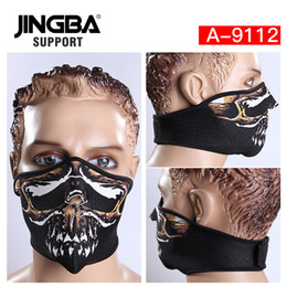 $enCountryForm.capitalKeyWord Australia - JINGBA SUPPORT Windproof Outdoor sport riding bike half face mask ski mask Halloween cool Manufacturer Dropshipping