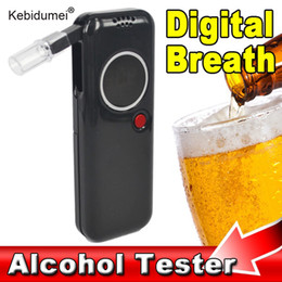 $enCountryForm.capitalKeyWord Australia - kebidumei Portable Digital Alcohol Breath Tester Breathalyzer Analyzer Alcoholic Meter Detector Red LCD Backlight Alcohol tester