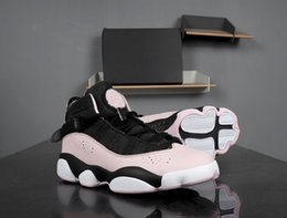 $enCountryForm.capitalKeyWord Canada - 6 Rings Cherry blossom Pink Black Women Basketball Shoes high quality Alternate Ladies Outdoor Deisgner Sneakers Shoes with box