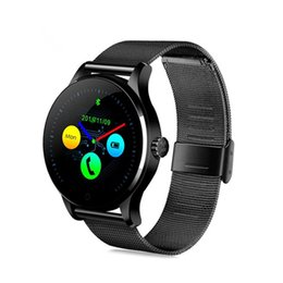 smartwatch ios k88h UK - K88H Smart Watch 1.22 Inch IPS Round Screen Sport Heart Rate Monitor Fitness Tracker Bluetooth SmartWatch For IOS Android