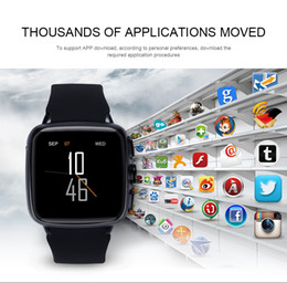 Smartwatch Gps Wifi Camera Australia - Z01 Android smartwatch Dual-core smart watch mobile phone with camera GPS Wifi google play support SIM card micro SD WCDMA whatsapp