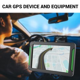 Gps Car Portable Australia - Portable External 7 Inch High Definition GPS Car Navigation System Resistance Screen 8G Without Bluetooth