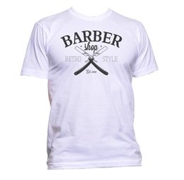 China Hipster Barber Retro T-Shirt Mens Womens Unisex Fashion Slogan Comedy Cool Funny Size Discout Hot New Tshirt Colour Jersey Print T Shirt supplier jersey colour suppliers
