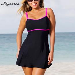 2e5ebfb1789d9 One Piece Swimsuit 2018 Swim Skirt Swimwear Plus Size Thong Bathing Suit  Brazilian Women Swimming Wear Push Up Vintage Monokini