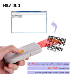 portable mini bars 2019 - NT1000 1D 2D QR Barcode Scanner Portable Mini Bluetooth 4.0 Bar Code Reader Work with Phones, Tablet, PC with Type C int