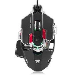 4caeedeec80 USB Wired Optical Gaming Mouse 5500DPI Programmable 10 Buttons RGB LED Mice