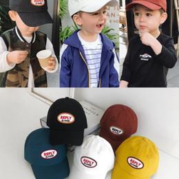 d9afcf07 Baby Boy Caps Kids Baseball Hat Outdoor Baby Boys Summer cotton Sport cap  1-3 years children sunshadow caps head accessories