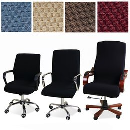 $enCountryForm.capitalKeyWord Australia - Lellen Universal Size Jacquard Chair Cover Computer Office Elastic Armchair Slipcovers Seat Arm Chair Covers Stretch Rotating T8190617
