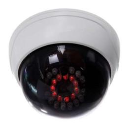 Telecamera di sicurezza dummy dome falso CCTV IG-INDOOR con LED IR Bianco in Offerta