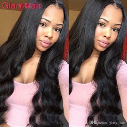 remy fashion hair weaves Australia - Wholesale Glary Hair Vendors Brazilian Human Hair Extensions Malaysian Peruvian Hair Weave Bundles Wet Wavy Body Wave Fashion Style 4 5 6pcs