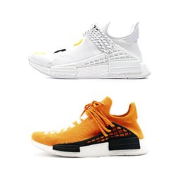 $enCountryForm.capitalKeyWord NZ - Hot Human Race Hu trail pharrell williams men running shoes Nerd black blue women men trainers fashion sports runner sneakers outdoor shoe