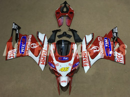 Motorcycle S Fairings NZ - New ABS motorcycle Fairings kits 100% Fit for DUCATI 899 1199 Panigale S 13 14 15 899S 1199S 2013 2014 2015 bodywork set red white 46