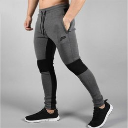 Tights Bodybuilding Legging Australia - 2019 New Running Tights Men Joggers Compressed Pants Gym Men's Bodybuilding Pants Sports Skinny Legging Sportswear Long Trousers