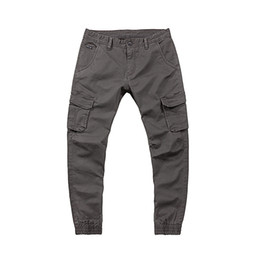 China New Arrival Men's Casual Autumn Pants Men Fitness Bodybuilding Pants For Runners Clothing Autumn Sweat Black Gray Trousers Pants MP27 suppliers