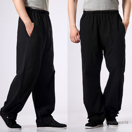 $enCountryForm.capitalKeyWord NZ - 100% Cotton Kung fu Tai chi Pants Wushu Martial arts Wing Chun Clothing Training Trousers