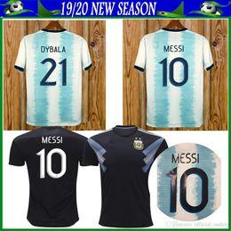 $enCountryForm.capitalKeyWord NZ - 2019 Argentina Soccer Jerseys Argentina Home soccer Shirt #10 MESSI #9 AGUERO #21DYBALA #11 DI MARIA away football uniform size S-XL