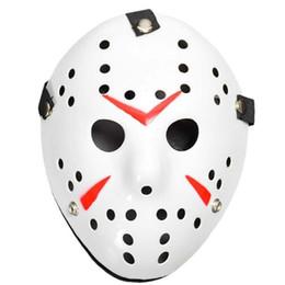 $enCountryForm.capitalKeyWord Australia - Horror Cosplay Costume Friday the 13th Part 7 Jason Voorhees 1 Piece Costume Latex Hockey Mask Vorhees