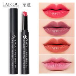 $enCountryForm.capitalKeyWord Australia - Waterproof matte-lipstick moisturizer smooth lips stick long lasting Gloss Cosmetic Beauty Makeup 7 Colors LAIKOU