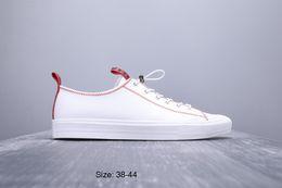2019 Chegam Novas Cheio de Couro Do Couro De Corrida Da Cabeça de Alta Qualidade Leatherwear Melhor Venda Homens Confortável Moda Esportes Ao Ar Livre Sneakers 38-44