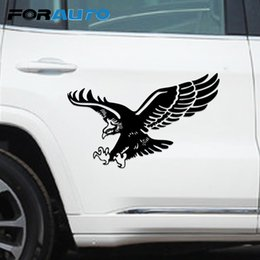 Discount totem animals - FORAUTO Big Eagle Totem Car Stickers Waterproof Vinyl Labels Animal Car Sticker Decor Styling Decals Car-styling