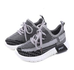 Discount korean rubber shoes boys - Ins Girls Sports Shoes New Spring and Summer 2019 Korean Version of Boys and Children's Single Shoes WL239