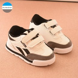 Discount girl top bottom - 2018 1 to 5 years old baby casual shoes fashion boys and girls shoes infant sneakers newborn soft bottom top quality
