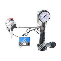 Injector Connectors Australia - Combination! ERIKC Multifunction Diesel Common Rail Injector Tester + S60H Nozzle Validator, Common Rail Injector Tester Tool