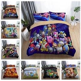 $enCountryForm.capitalKeyWord Australia - 3D Cartoon Games Design Bedding Set 2PC 3PC Duvet Cover Set Of Quilt Cover & Pillowcase Twin Full Queen King Size