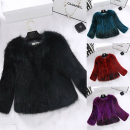 $enCountryForm.capitalKeyWord Australia - Luxury Women Designer Winter Coats 2019 Long Sleeve Top Quality Fox Fur Short Jackets In Stock Thicker Warm Coat Fashion Leading