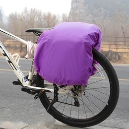 Bicycle Travelling Australia - Bicycle Bag Rain Cover saddlebag motorcycle riding Rear Seat Bag raincover Cycling Backpack Travel Bags Rainproof