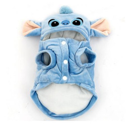 Jackets Online Australia - Cartoon Stitch Dog Winter Clothes Puppy Cat Halloween Costumes Apparel Online Shop XL Free Shipping