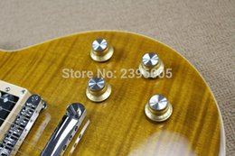 String picS online shopping - ot Sale standard electric guitar tiger maple cover slash guitar signature limited issued high quality real guitar PICS