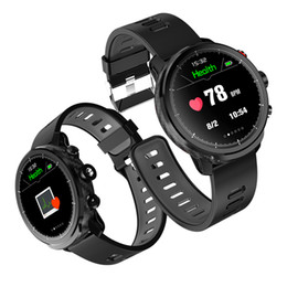 smartwatch android gps UK - Smart Watch Men IP68 Waterproof Sports fitness bracelet with Heart Rate Monitoring flashlight Smartwatch for ios andriod