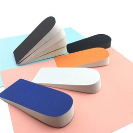 lifts elevators NZ - Unisex Half Height Increase Elevator Shoes Insoles for Men Women Up 25mm Insole Memory Foam Lifts Inserts Foot Care Pads
