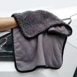 $enCountryForm.capitalKeyWord Australia - 40X60cm Cleaner Drying Chenille Super Absorbent Auto Detailing Window Cleaning Towel Car Care Microfiber Cloth