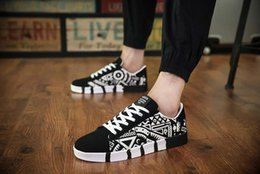 Spring Fall Canvas Shoes Australia - Europe United States breathable spring men's casual canvas shoes Korean version of sports trendy for male students