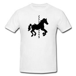 bbfd3b72ff Carousel horse Funny Mens or Lady Fit T Shirt T-Shirt Funny Gift Funny free  shipping Unisex Tshirt top