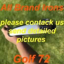 Vente en gros 2020 Nouveaux fers de golf Tous les chemins de marque sertis avec arbre en acier / kbs graphite arbre de graphite / club de golf d'arbre de graphite